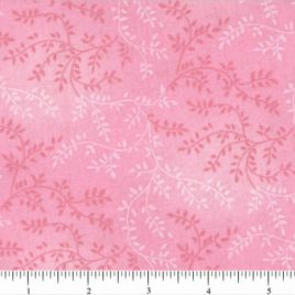 108″ Light Pink Leaves