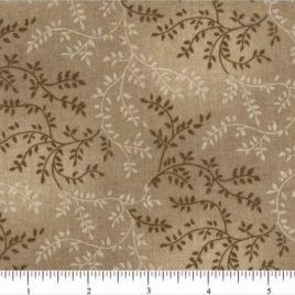 108″ Light Brown Leaves