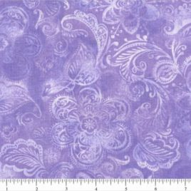 108quiltbackings light purple flowers burst