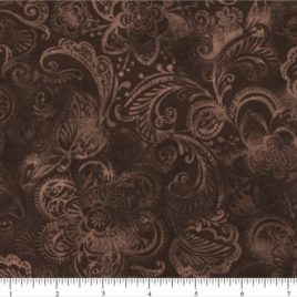 108″ Dark Brown Batik II