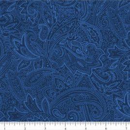 108″ Blue Paisley