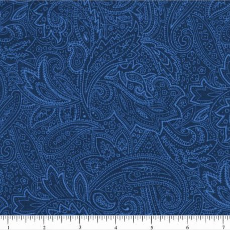 Blue Pasley