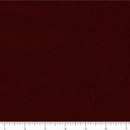 108″ Dark Red Paisley