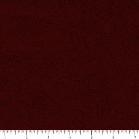 Dk Red Paisley