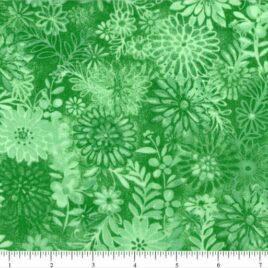 108″ Aqua Green Flower Bursts
