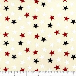 108″ RWB Stars(sm) on Cream