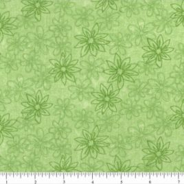 108″ Lime Green Daisies