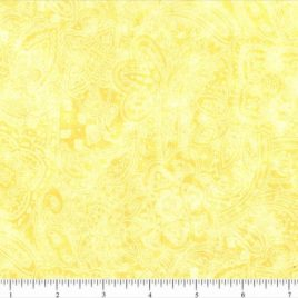 108″ Yellow Paisley