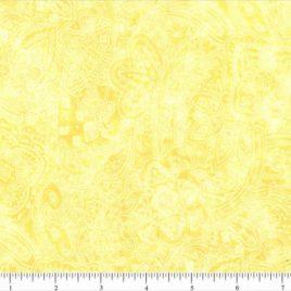 108″ Yellow Paisley