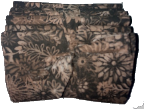 <h5>New 6-PACK of Brown Flower Bursts</h5>