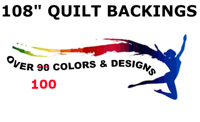 108 Quilt Backings